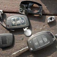 Automobilinių raktų korpusai